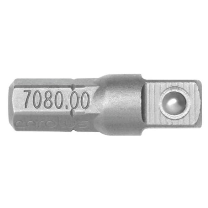 "Stecknuss Adapter 1/4""Vierkant auf 1/4""sechskant Bitaufnahme"