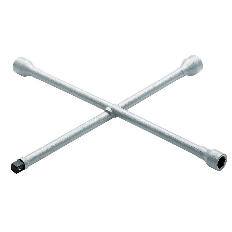 """Kreuzschlüssel PKW 17x19x21x1/2"""" 4-kt. 420x420 mm"""