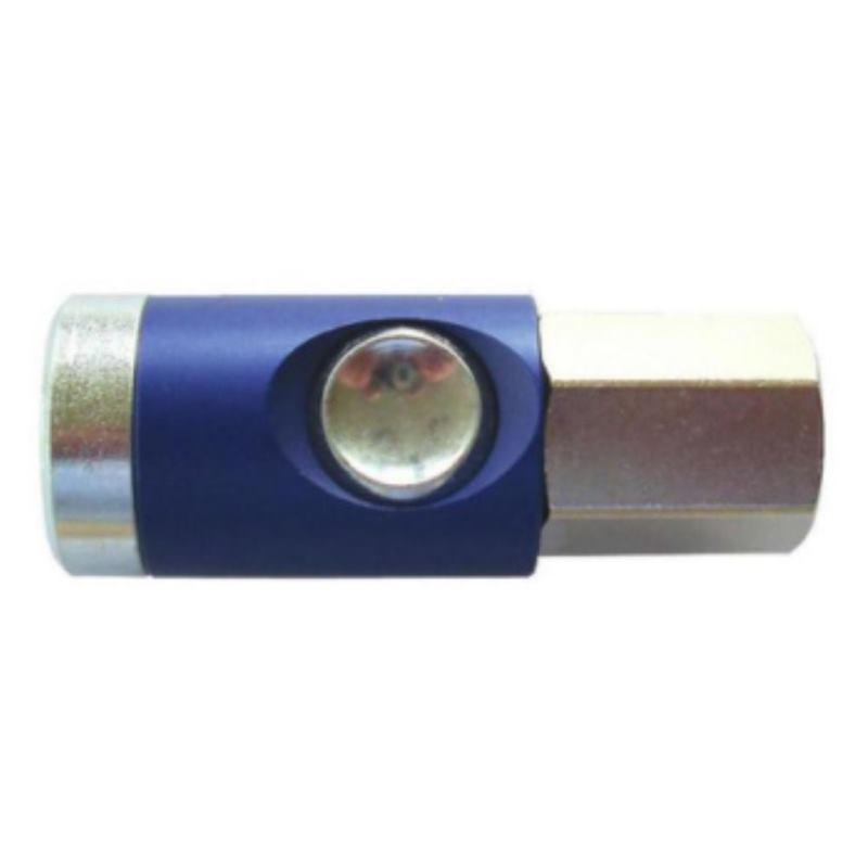 Sicherheitskupplung G1/2 mit Innengewinde mit Knopf. drehbar