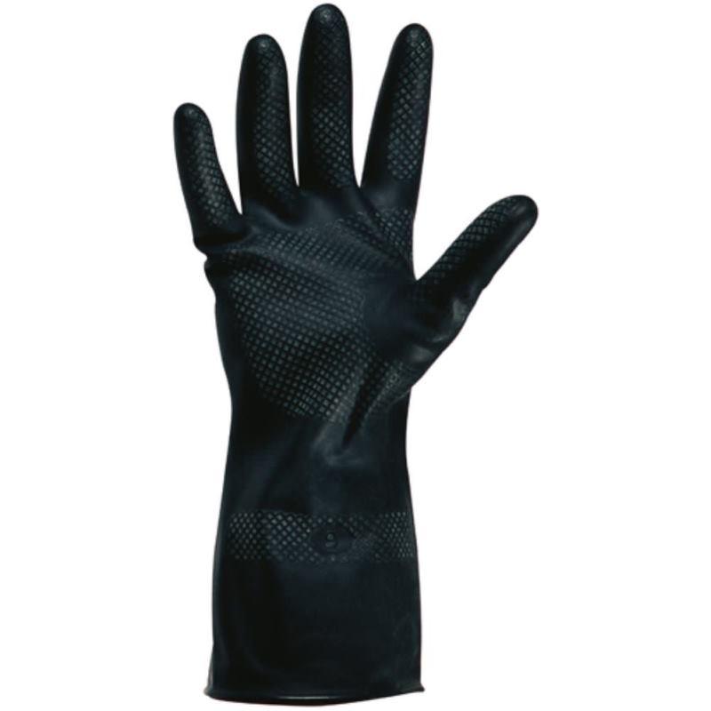 Chemikalien-Schutzhandschuh aus Polychloropene Grö