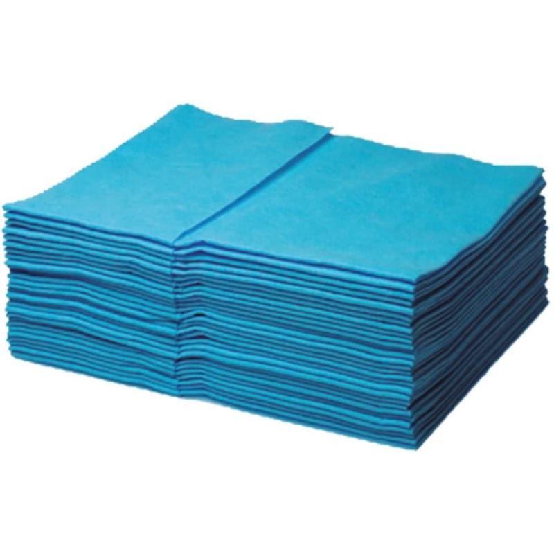 Multitex Tücher blau Pack mit 40 Tücher - 38 x 34