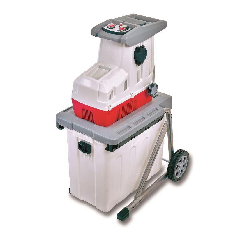 Elektro Leisewalzenhäcksler ILH 2800(Auffangkorb &Ablagefach)