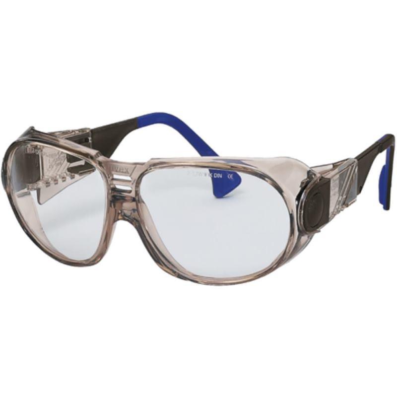 Schutzbrille futura braun-transparent