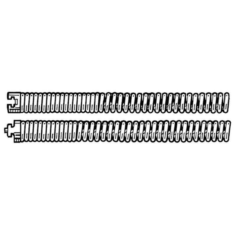 Teil-Spirale C-10. 22 mm x 4.6 m