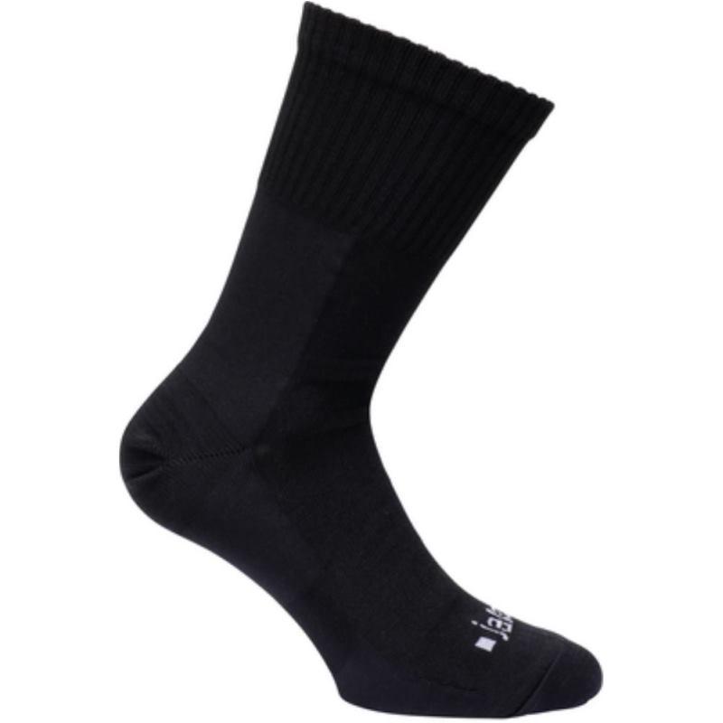 Socken-Paar Farbe schwarz für Sicherheitsschuhe Größe 44-45