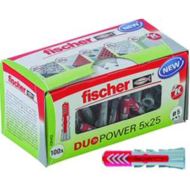 555005 DUOPOWER 5x25 FISCHER