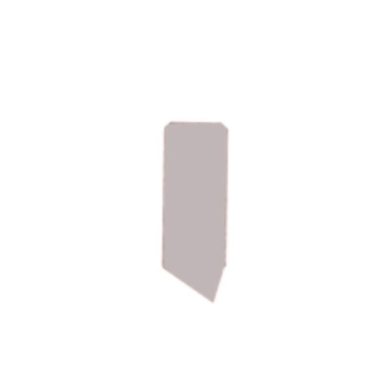 Hartmetall-Mitnehmer-Platten, Größe 6x3,2, Rechts- oder Linkslauf