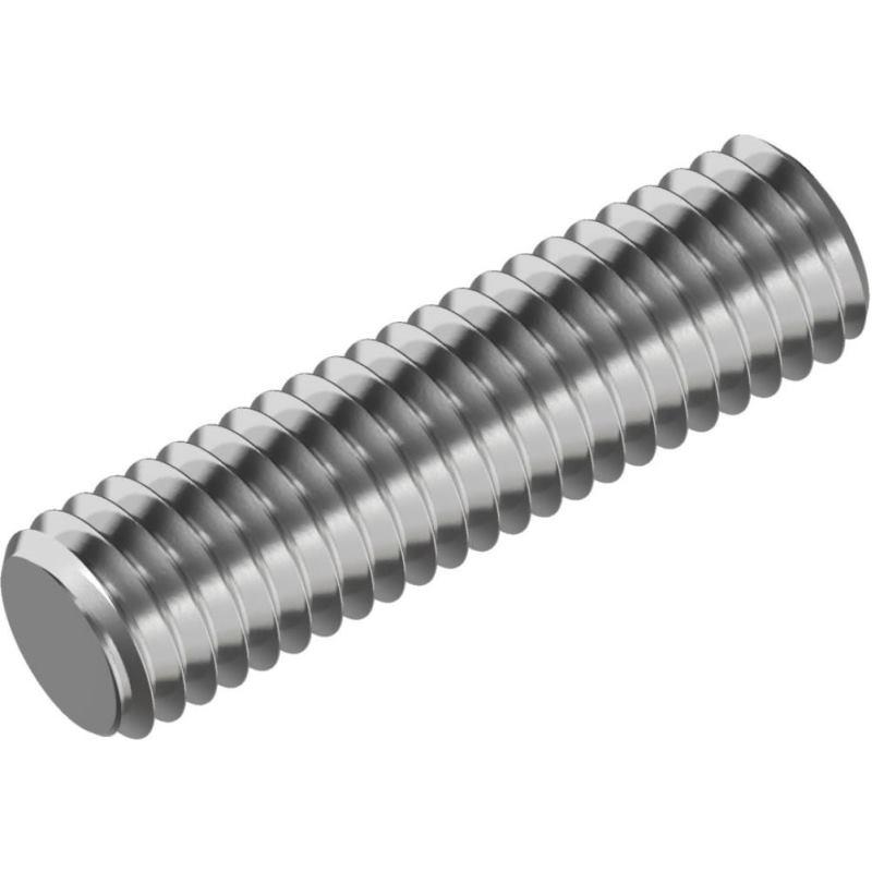 Gewindebolzen / Gewindestangen DIN 976-B A2 Form B M 8x 40