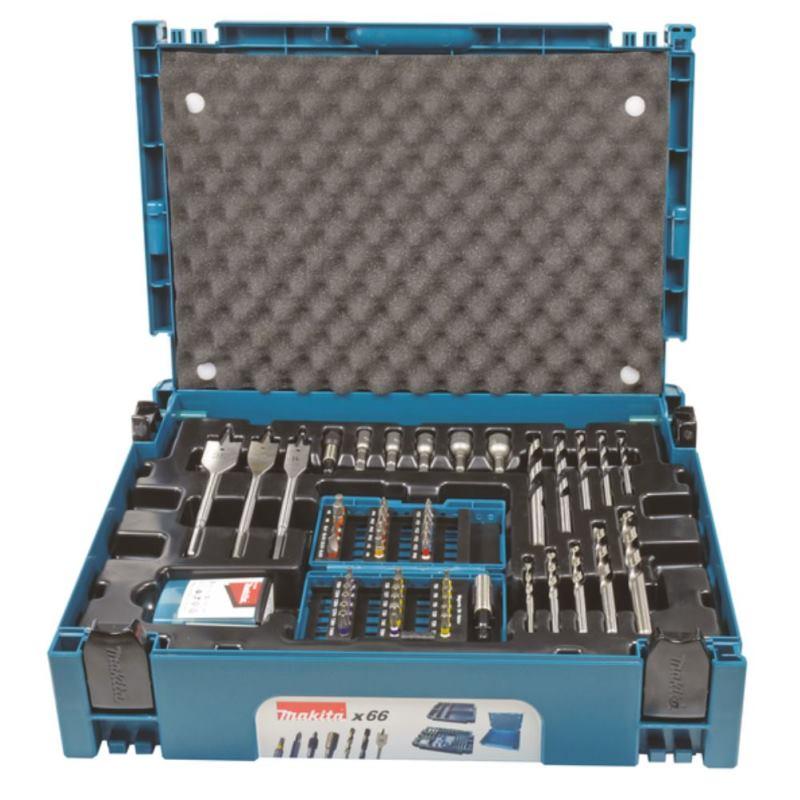 Bohrer Bit Set 66-tlg. im MAKPAC Koffer B-43044
