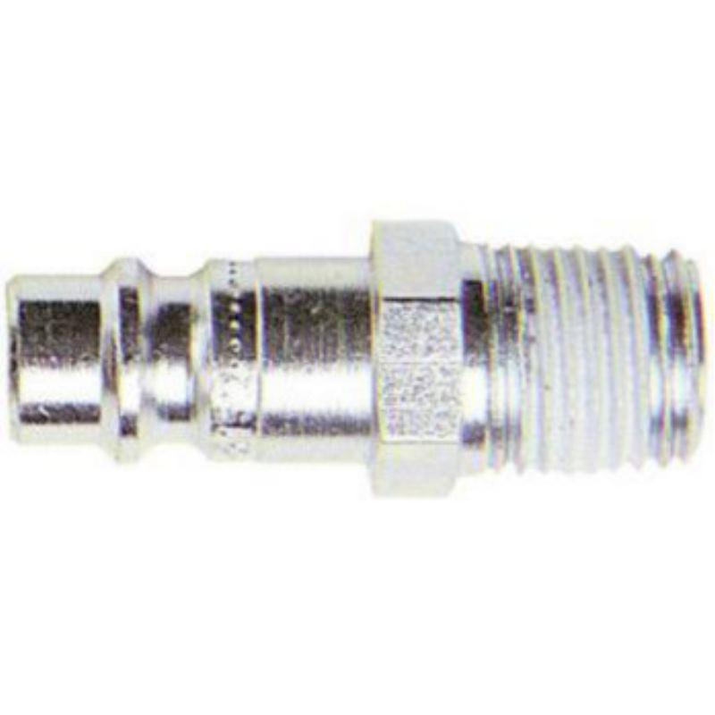 Stecknippel aus Stahl R 1/4' Außengewinde