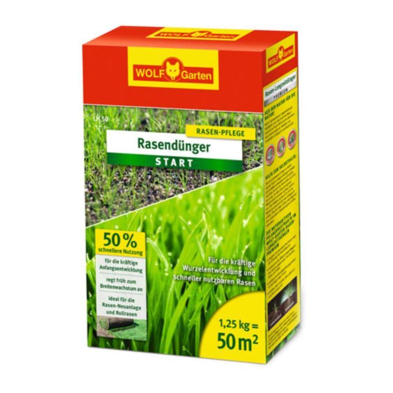 Rasendünger Start LH 50 | 1.25 kg | 50 m²