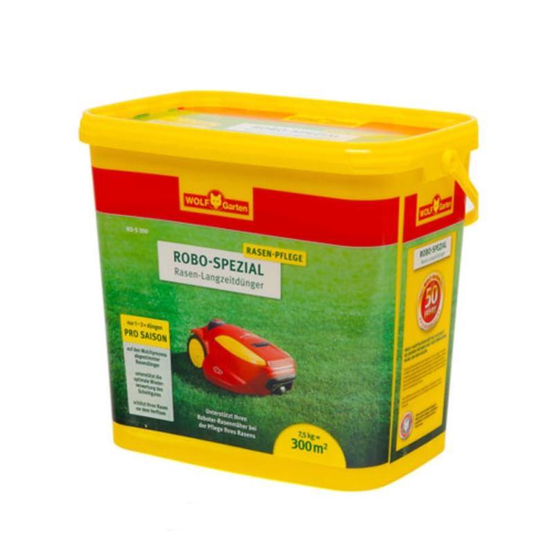 Robo-Spezial Rasen Langzeitdünger RO-S 300 | 7.5kg | für 300 m²