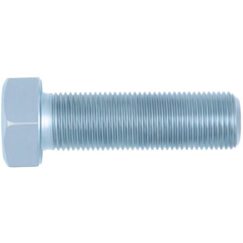 Sechskantschraube mit Feingewinde DIN 961 Stahl 10.9 verzinkt M14 x 1,5 x 70 50 Stück