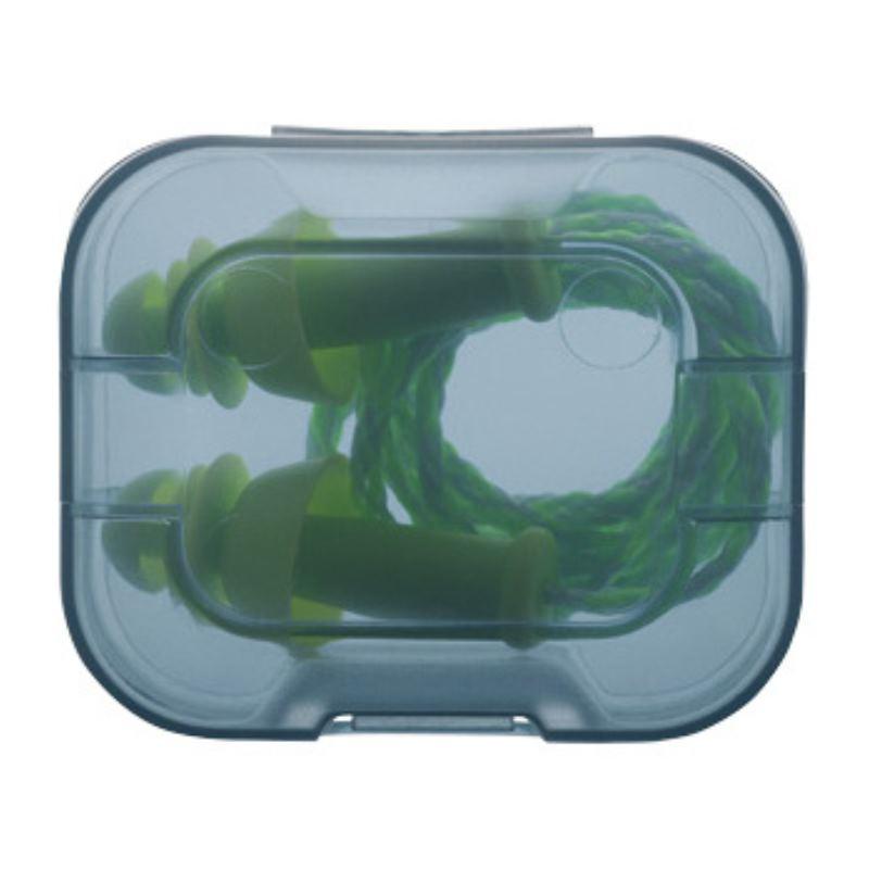Gehörschutzstöpsel Whisper+ SNR 27 dB in Kunststoff-Hygienebox