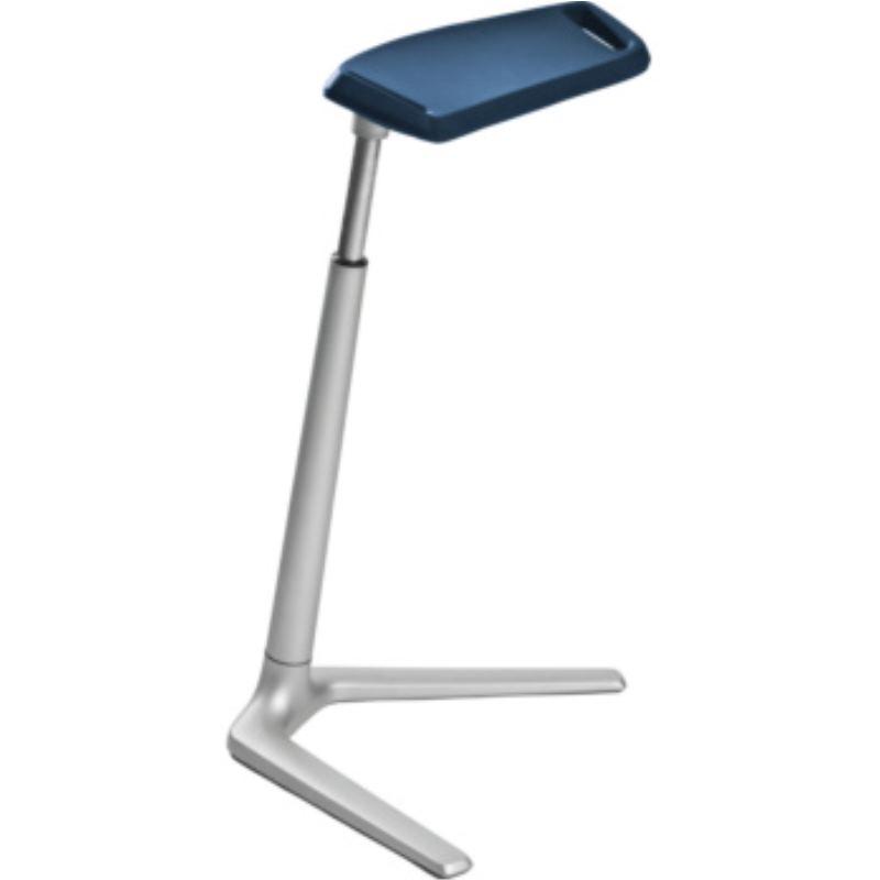 Stehhilfe Fin Sitzfläche blau höhenverstellbar 620-850 mm