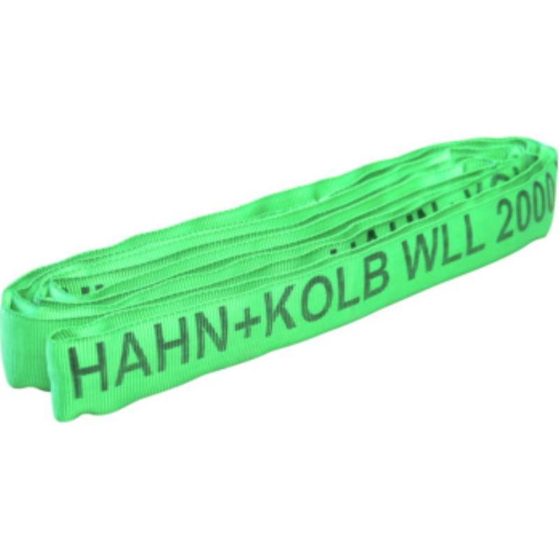 Rundschlinge Farbe Grün Länge 1 m Werkstoff Polyester