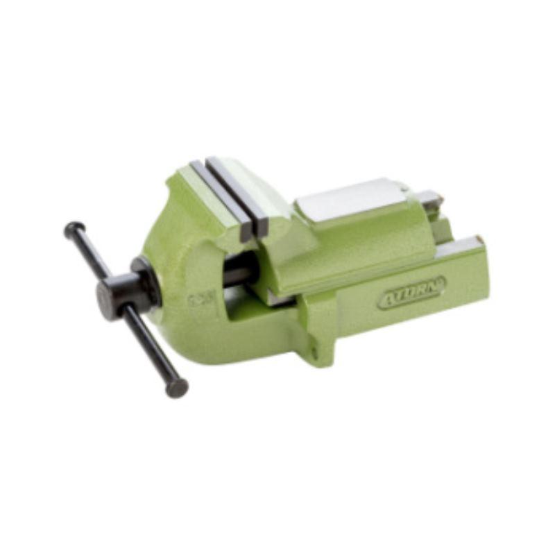 Parallel-Schraubstock 150 mm, Grauguss, Farbe grün