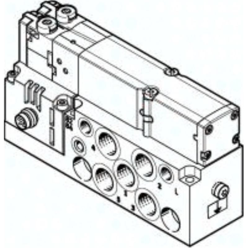 VMPA2-M1H-I-G1/8-PI 545232 Magnetventil