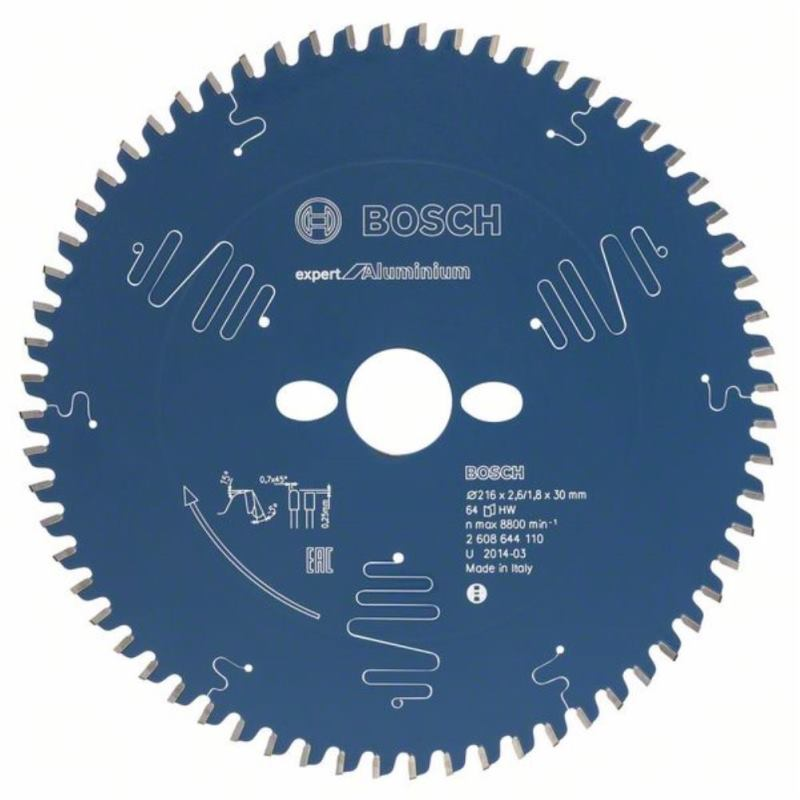 Kreissägeblatt Expert for Aluminium, 210 x 30 x 2,6 mm, 54