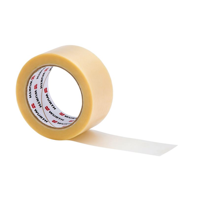 50mm Klebeband Packband Transparent PVC | 66 M | 6er Pack