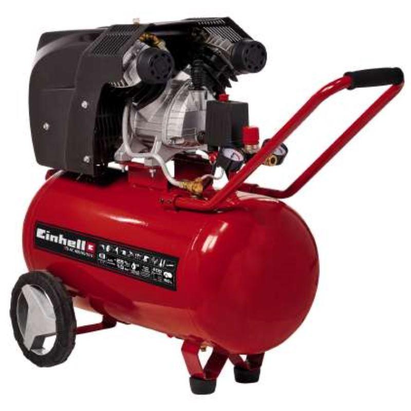 Druckluft Kompressor TE-AC 400/50/10 V | 2 Zylinder