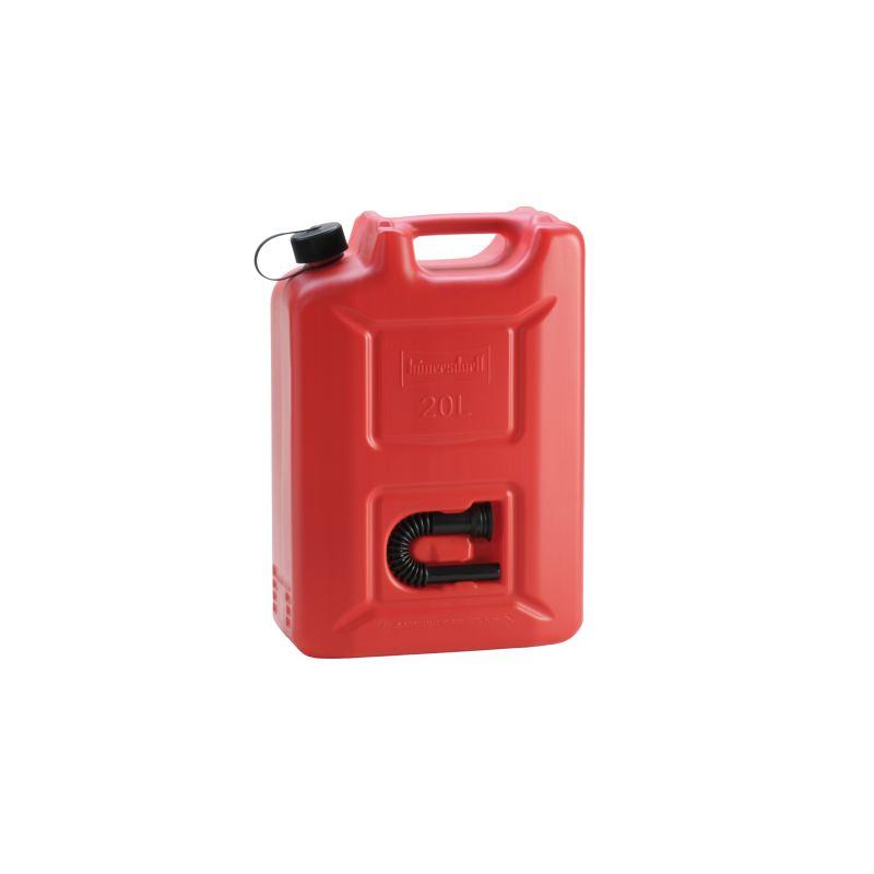 Kraftstoff-Kanister PROFI (UN) 20 L rotUN-ZulassungHDPEschwarzes Zubehör