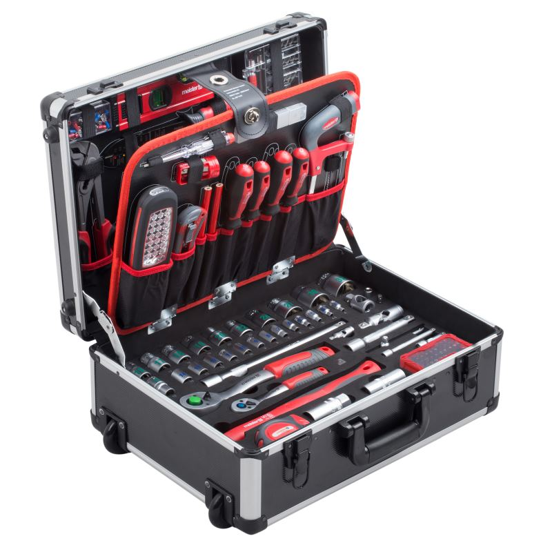 Werkzeugtrolley 156-teilig