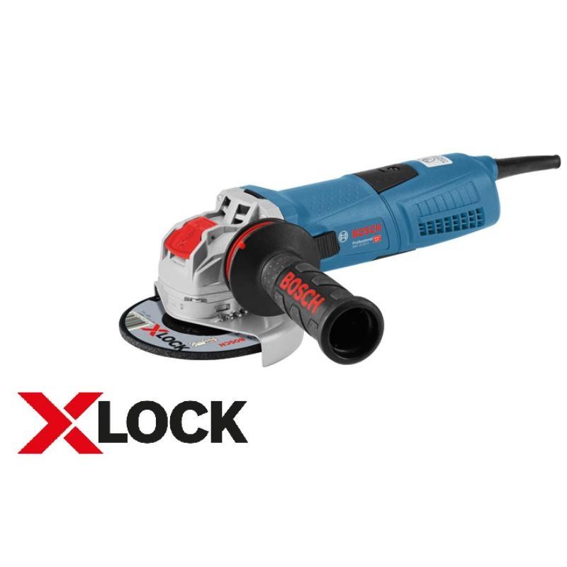 X-LOCK Winkelschleifer GWX 13-125 S | 1.300 Watt