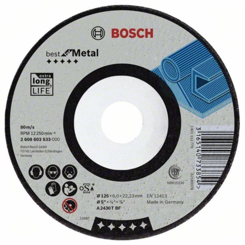 Schruppscheibe gekröpft. Best for Metal A 2430 T B