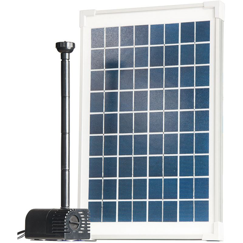 SUN-POWER Solar Teichpumpen-Set 610 l/h