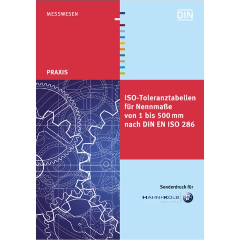 ISO-Toleranztabellenbuch 1 - 500 mm nach DIN ISO 2