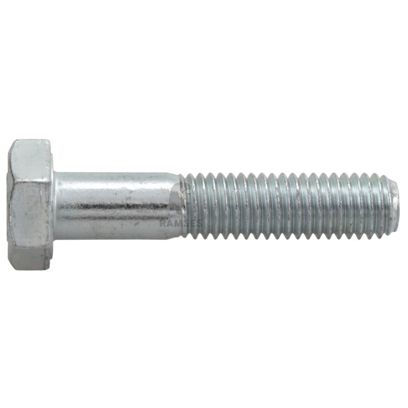 Sechskantschrauben DIN 931 Güte 8.8 Stahl verzinkt M 6x 70 100 St.