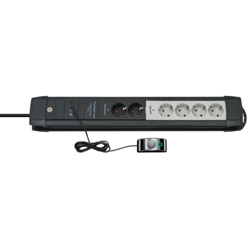 Premium-Line Comfort Switch Plus Steckdosenleiste