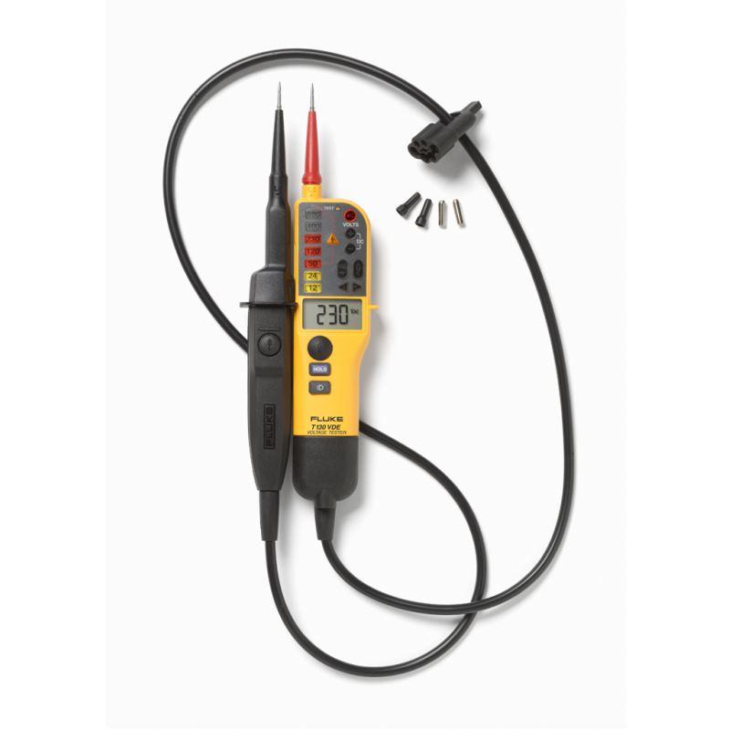 T130/VDE Spannungs & Durchgangsprüfer mit LCD mit