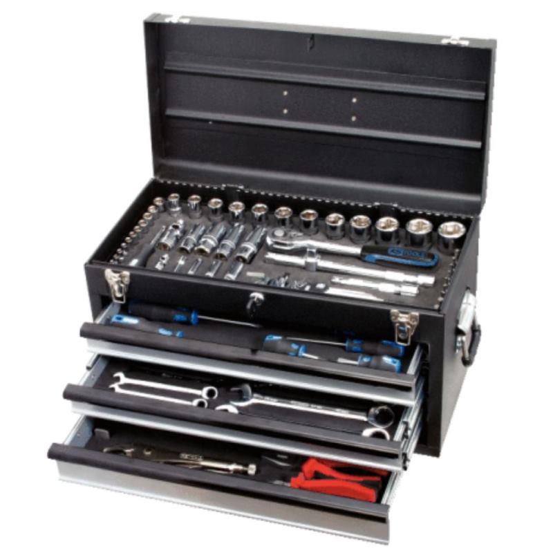 """1/4"""" + 1/2"""" BLACKplus Techniker Werkzeug-Sortiment"""