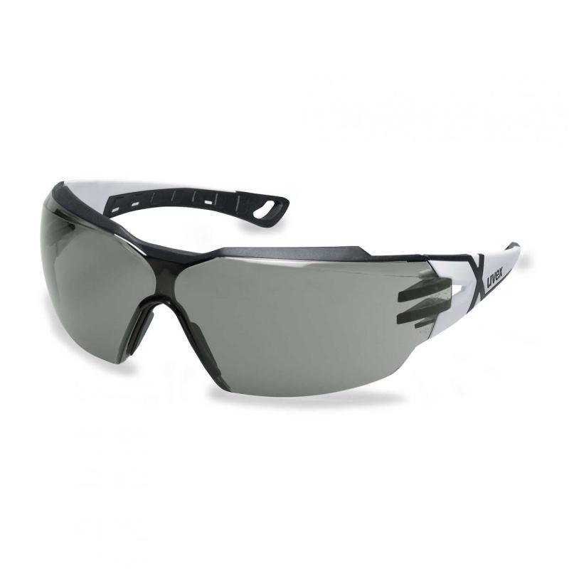 Schutzbrille pheos cx2 grau sv excell. weiß/schwarz