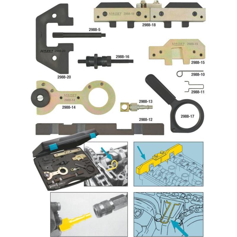 Motoreinstell-Werkzeug BMW 2988/11