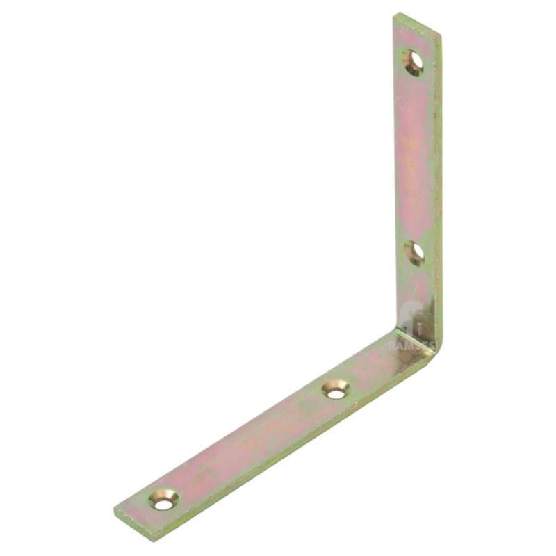 Winkel extra stark 180 X 20 X 180 X 5 mm Stahl verzinkt 1 Stück