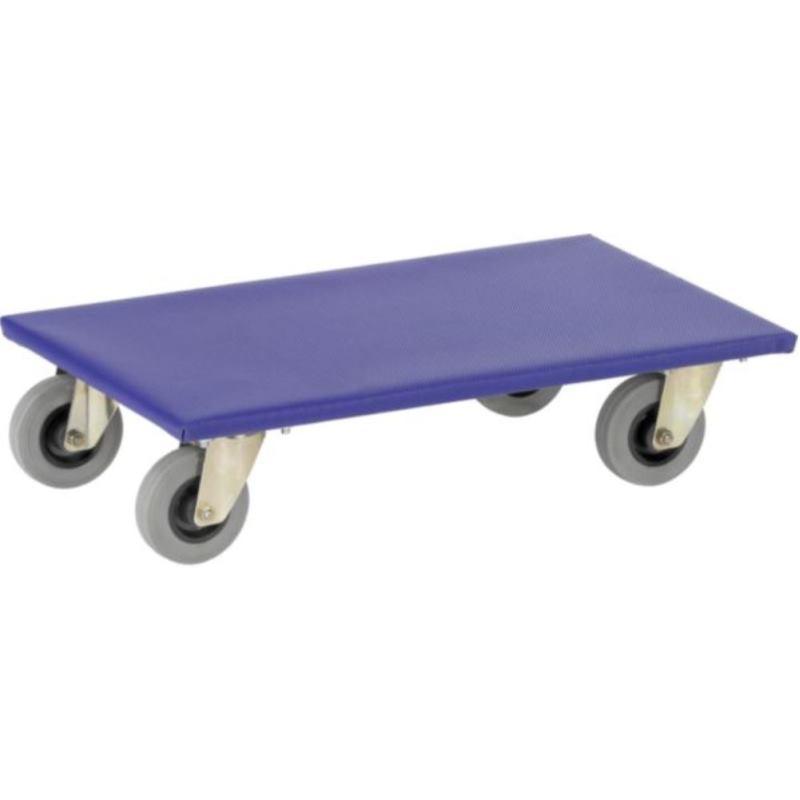 Transportroller für Möbel Plattform aus Holz, Trag