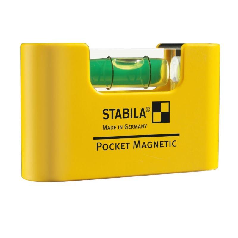 Miniformat-Wasserwaage Pocket Magnetic / 6.8cm