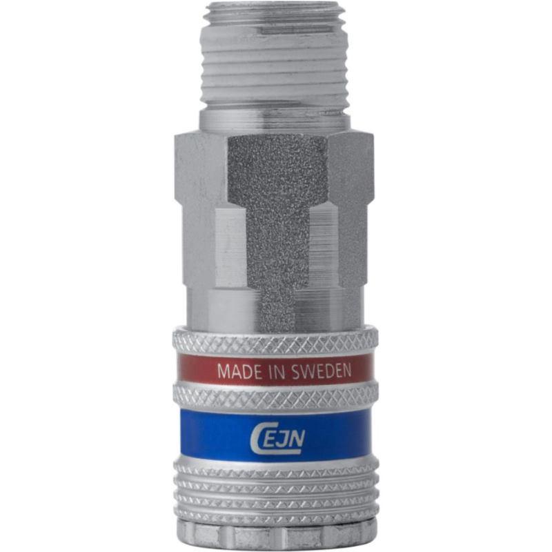 Sicherheitskupplung eSafe Serie 320 aus verzinktem Stahl 10 mm Schlauchinnen-Ø Durchfluss:..2250 l/m