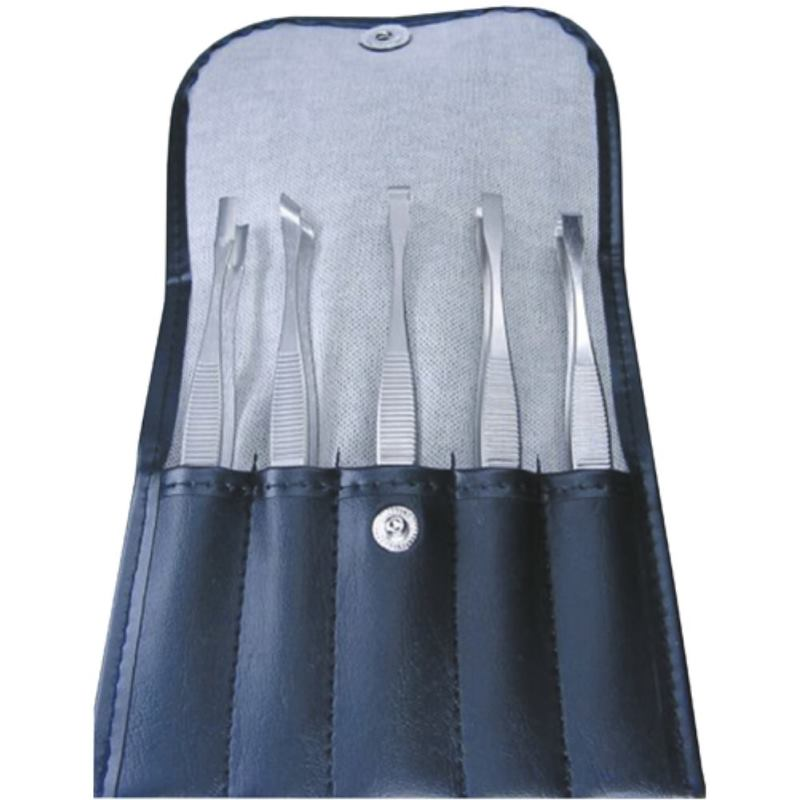 Pinzettentasche 5-fach bestückt niro