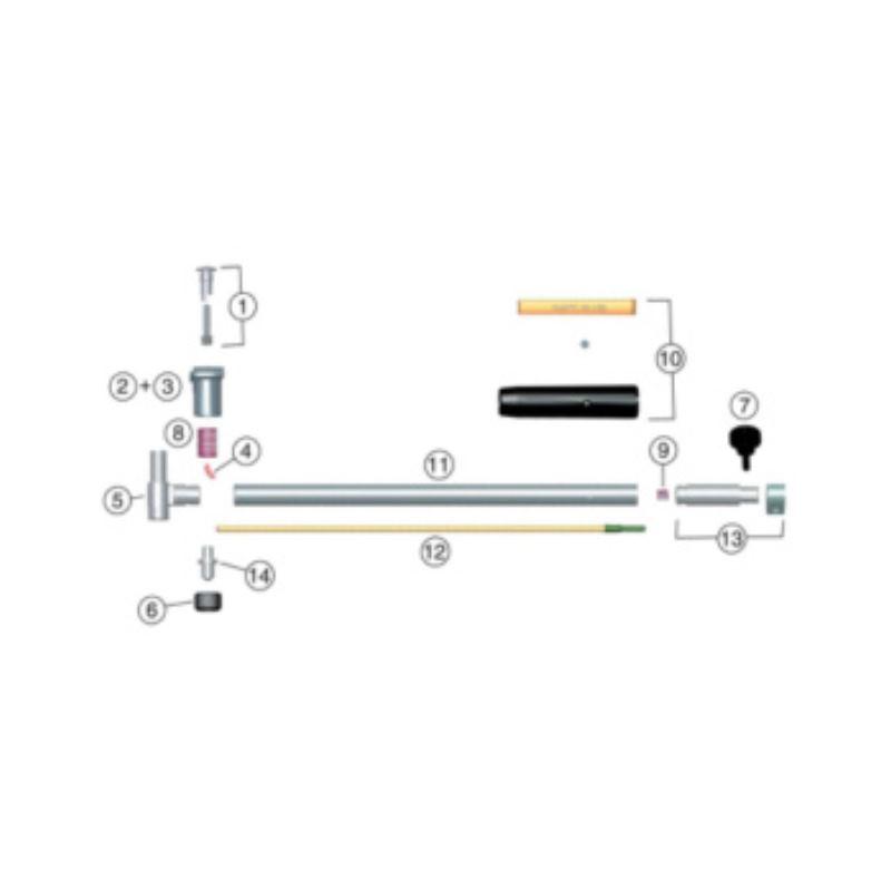 SUBITO Feder für Zentrierteller für 6,0-8 mm Messbereich