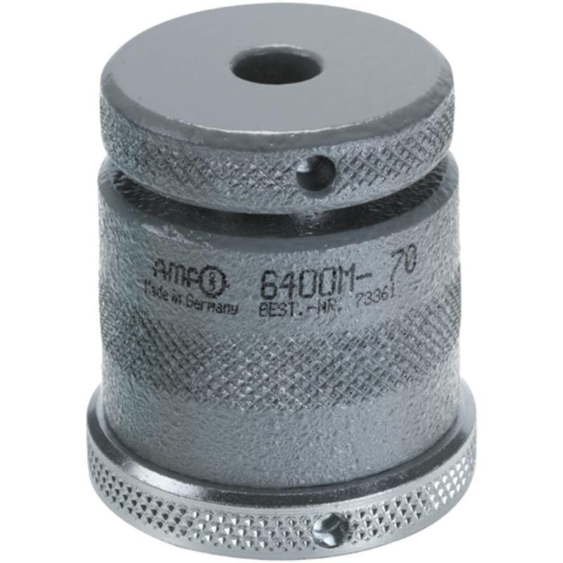 Schraubböcke mit flacher Auflage und Magnetfuß 60