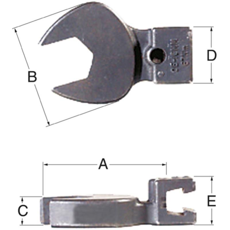Maulschlüssel 15 mm OE-15