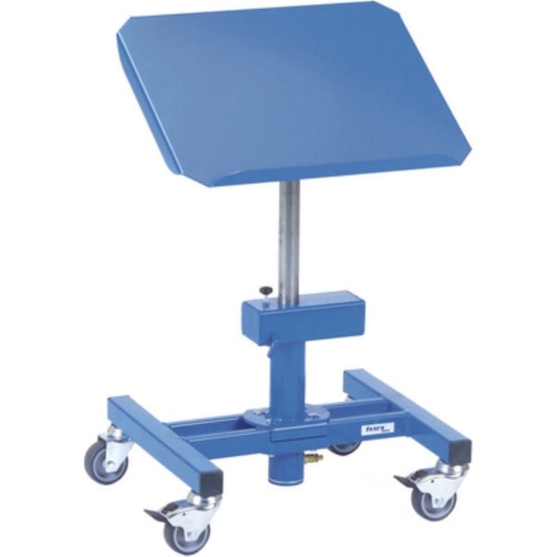 Materialständer stufenlos höhenverstellbar Höhe 510-700 mm, Tragfähigkeit 150 kg Ladefläche 510 x 41