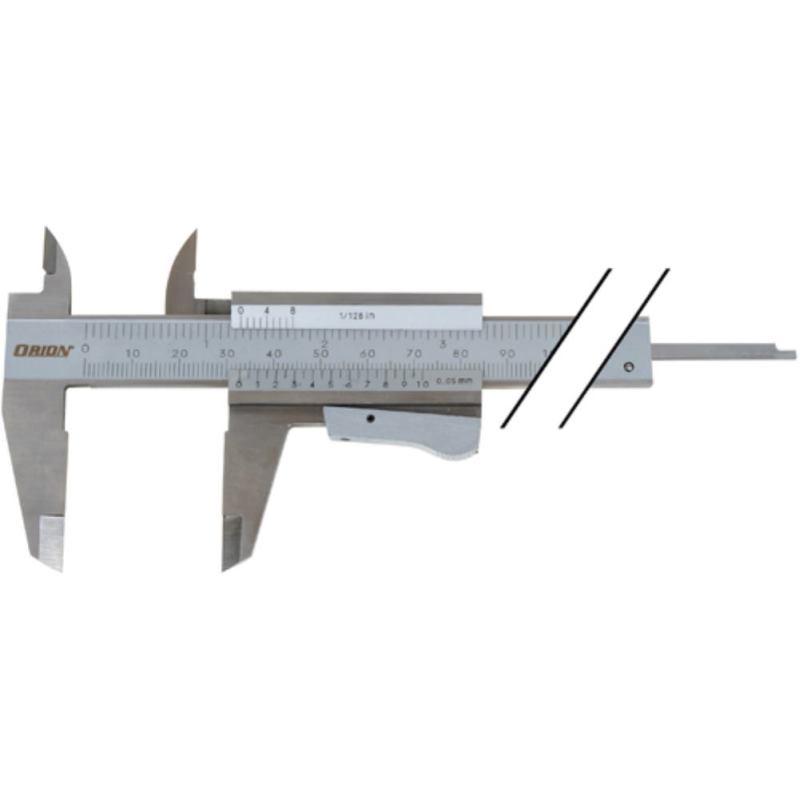 Messschieber INOX 150 mm mit Schnellverstellung