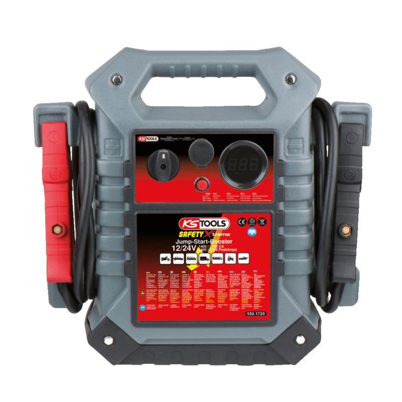 Energiestation Booster 12/24 V. 1400 - 700 A