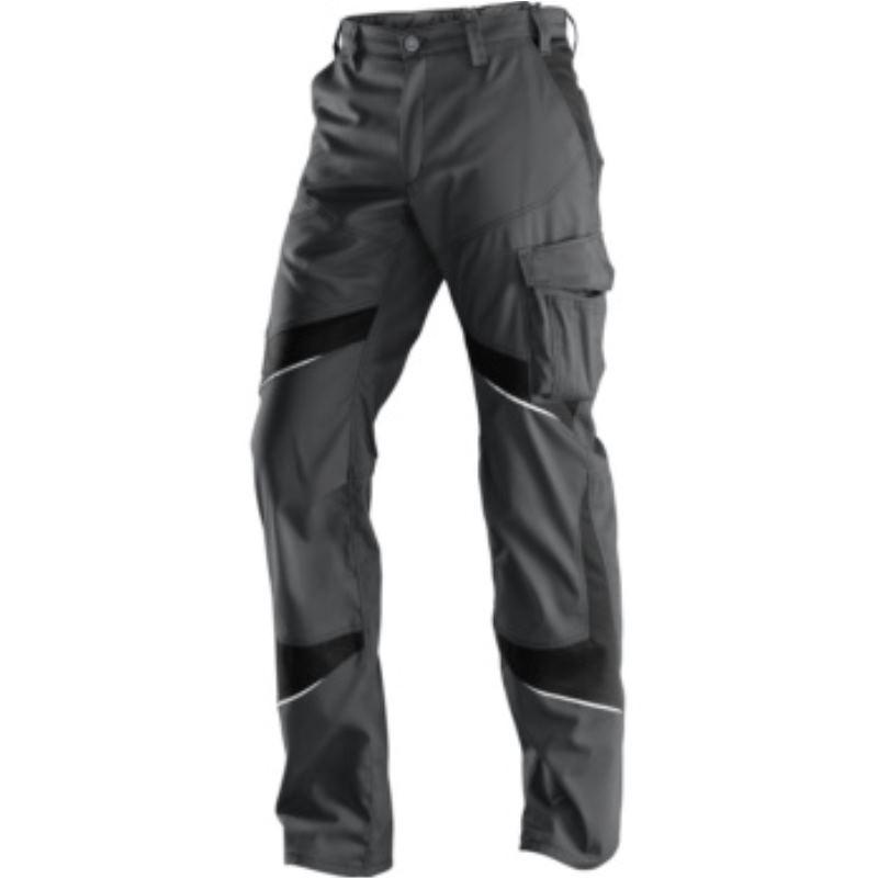 Kübler ACTIVIQ Herrenbundhose, anthrazit/schwarz, Größe 52