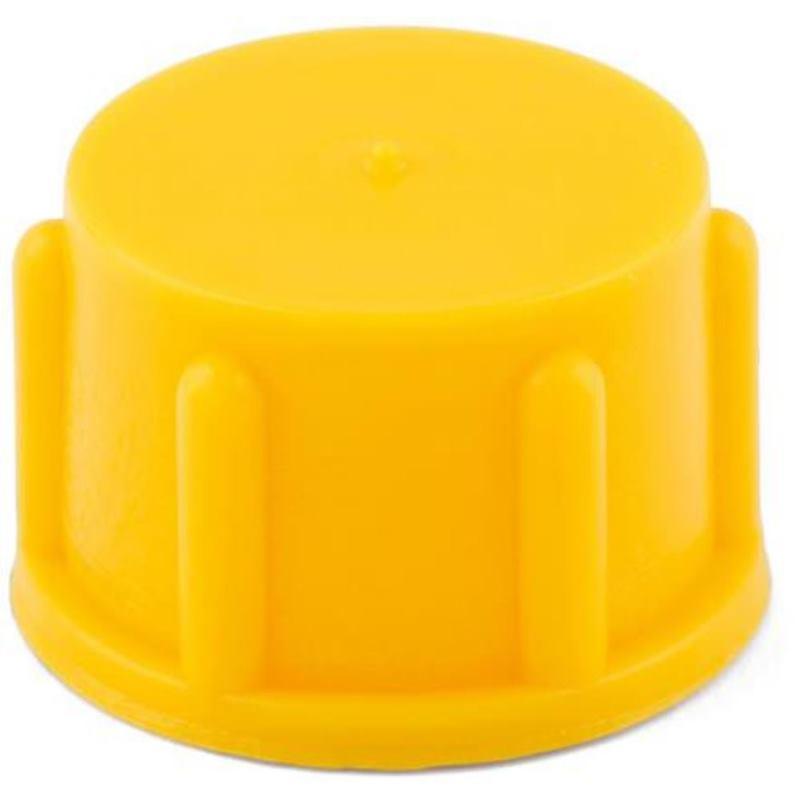 Schraubkappe WP 800 Polyethylen Gelb M36 x 1.5 100 Stück